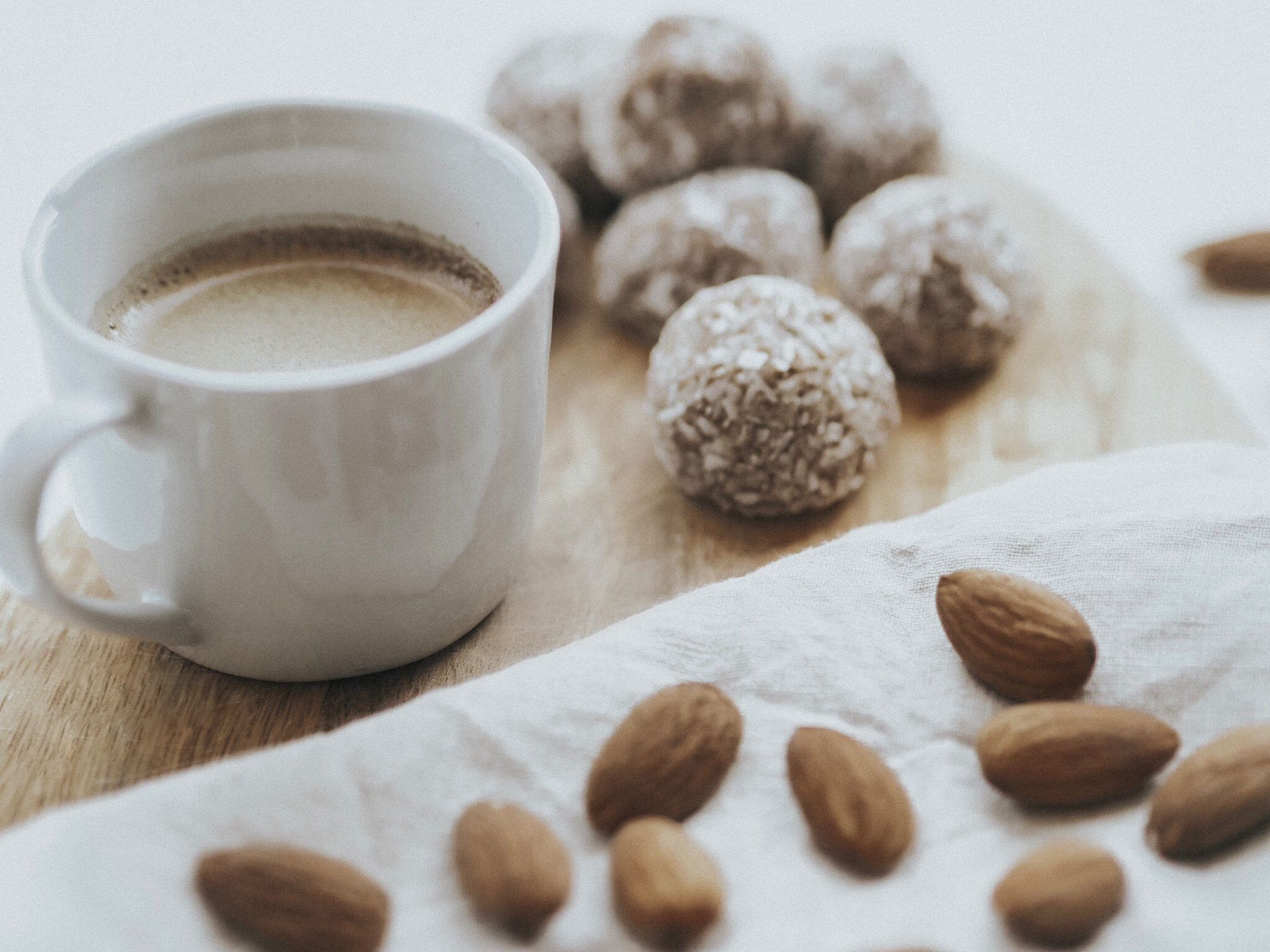 Dirty Chai Energy Balls Coffee